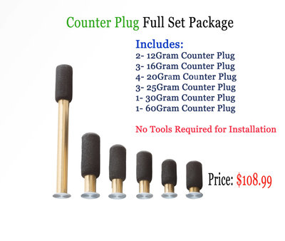 Counter Plug Full Set Package